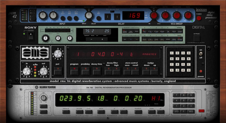 80s Effects Rack