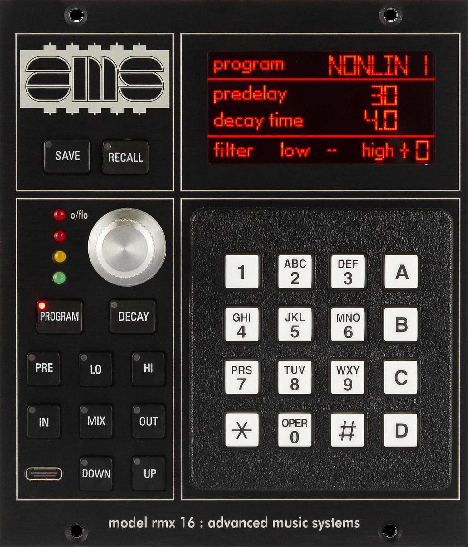 AMS RMX16