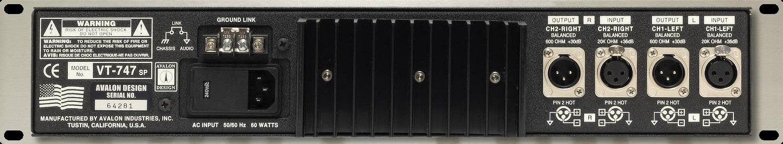 Avalon Design VT747-SP Rear