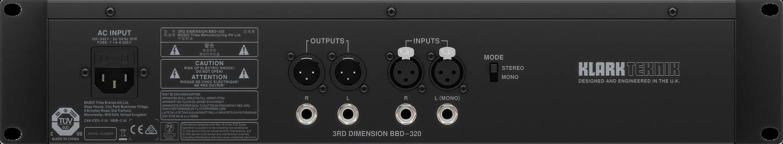 Klark Teknik 3rd Dimension BBD-320