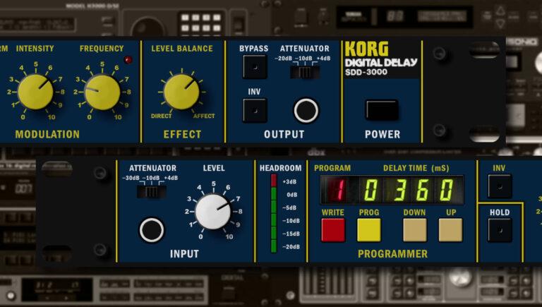 Korg SDD-3000 Review