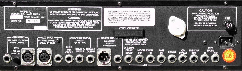 Lexicon Model 97