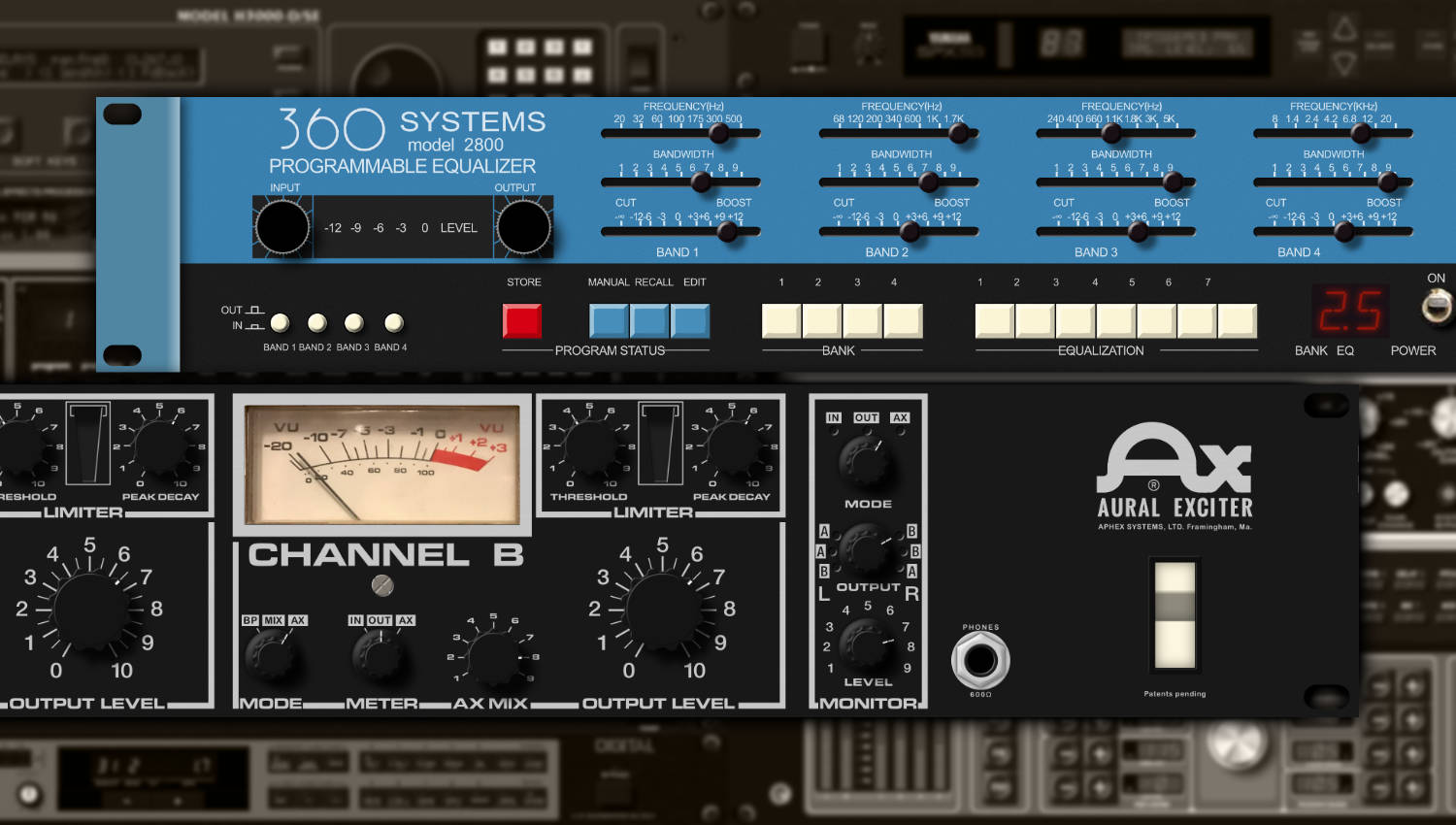 Aphex Aural Exciter & 360 Systems EQ