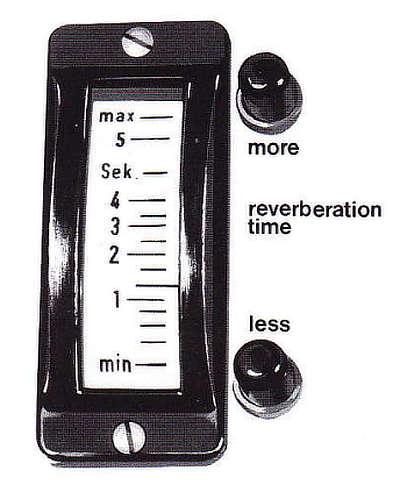 EMT 140 Reverb Time