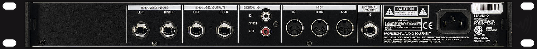 TC Electronics D-Two Rear